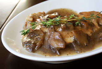 Chicken marsala, a good Pointsplus choice!