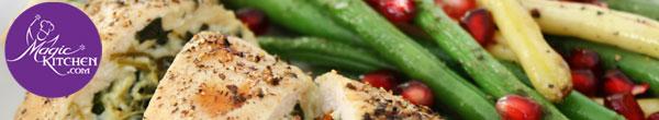 Menu frozen meals for new moms for Magic kitchen menu
