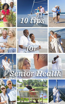 10 tips for senior health ebook