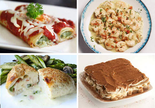 Italian Food Lover's Meal Bundle/A Reason to Celebrate Bundle/Valentine's Italian Extravaganza/Italian Temptations