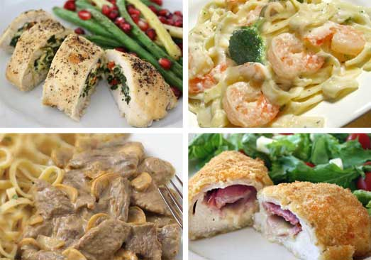 Top Rated Meals Bundle/Birthday Meal Delivery/Sympathy Meal Ideas/Valentines Day Gifts