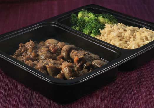 Beef Bourguignon, Brown Rice & Broccoli - Individual Meal