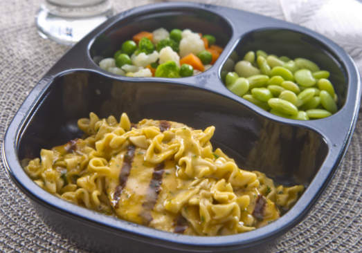 Creamy Chicken & Dumpling Noodles with Lima Beans & Winter Vegetables - Individual Meal