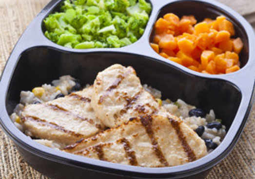Southwestern Style Chicken Tenders with Sweet Potatoes & Broccoli - Individual Meal