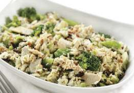 Chicken Broccoli Wild Rice Casserole