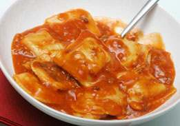 Cheese Ravioli with Marinara Sauce