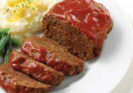 Magic Meatloaf with Tomato Sauce