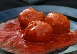 Turkey Meatballs Marinara