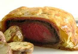 Beef Wellington En Croûte