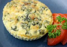 Crustless Spinach Quiche Twin Pack
