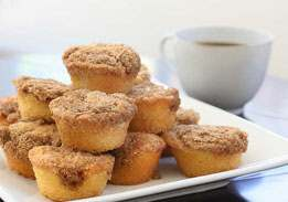 Coffee Cake Bites