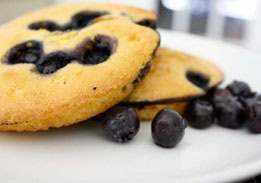 Corn Bread Blueberry Toaster Cakes