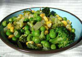 Broccoli, Peas & Corn