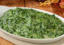 Spinach, Creamy - Unadvertised Special
