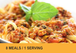 Meals for One (8 Meals) Bundle #5