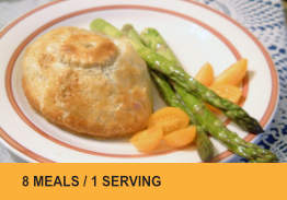 Meals for One (8 Meals) Bundle #1