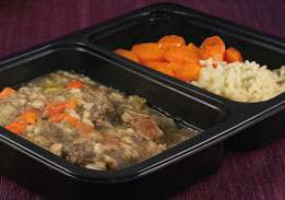 beef barley stew, one of our renal meals delivered