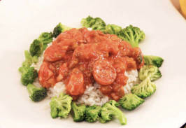 Jambalaya with Andouille Sausage & Chicken - Individual Meal