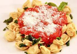 Cheese Tortellini with Pomodoro Sauce - Individual Meal