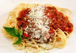 Spaghetti Pasta with Beef Bolognese - Individual Meal