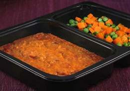 Chile con Carne with Peas & Carrots - Individual meal