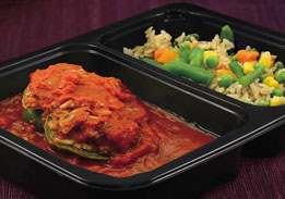 Stuffed pepper, a dialysis-friendly meal