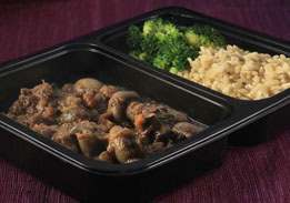 Beef Bourguignon with Brown Rice & Broccoli