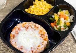 Pepperoni Pizza with 4 Seasons Vegetables & Whole Kernel Corn - Individual Meal