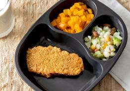 Breaded Fish Wedge, Butternut Squash & Autumn Blend - Individual Meal