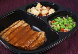 Ginger Pork, Red Skin Potatoes & Green Pea Blend - Individual Meal