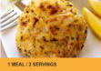 Crab Cake Dinner - 2 servings